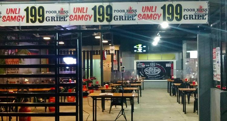 Poor-Boss-Grill-Unlimited-Samgyupsal Unli Samgyupsal in Angeles City